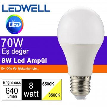 8W led is hoeveel watt
