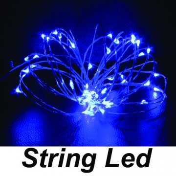 string led mavi