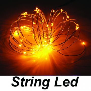 string led sarı